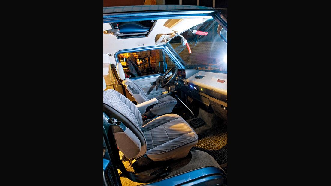 VW-Bus T3, Julia Reinecke, Cockpit,