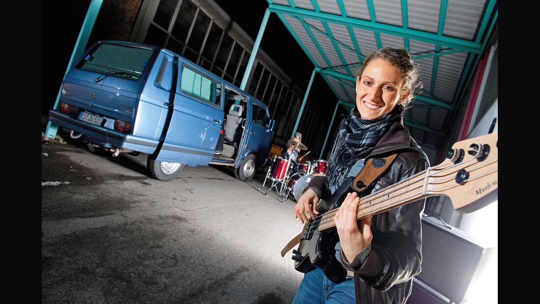VW-Bus T3, Julia Reinecke, Heckansicht