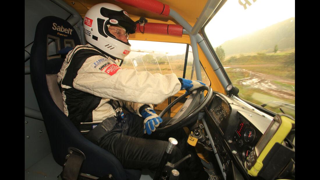 VW Bus T3 Rallye, Cockpit