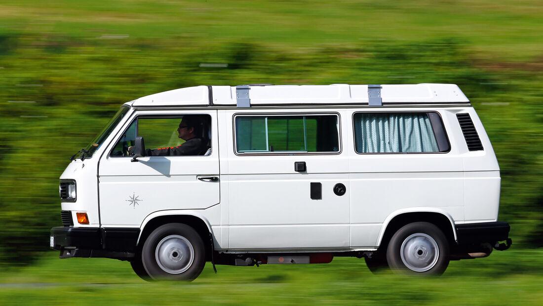 VW Bus T3, Seitenansicht