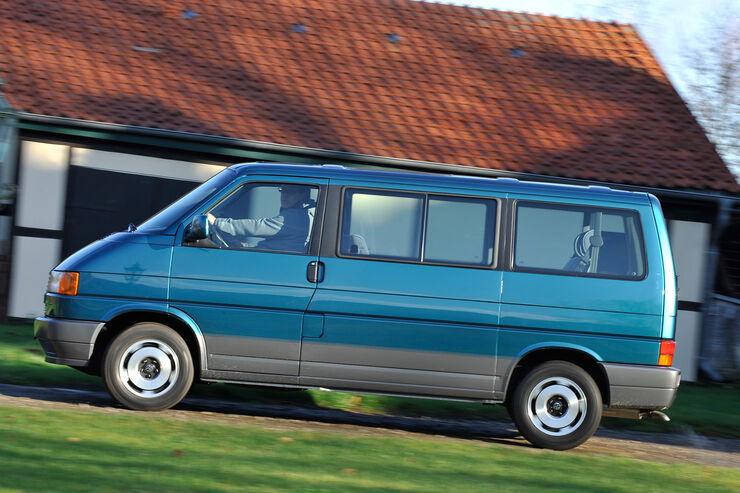 VW Bus, T4, Seitenansicht