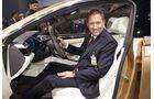VW C Coupé GTE, Shanghai, Auto China, Sitzprobe