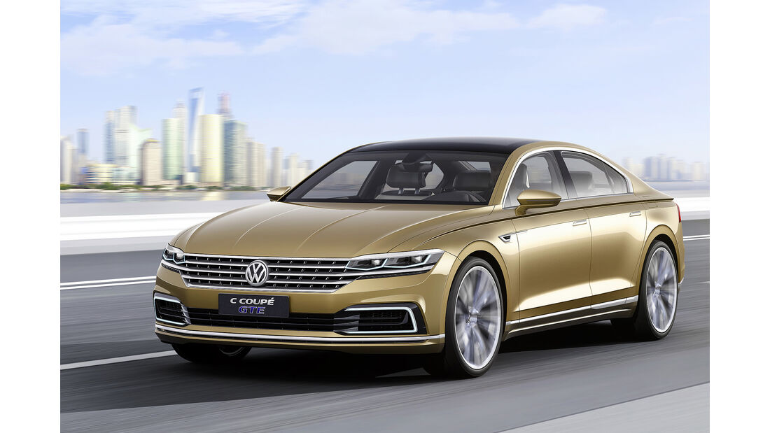 VW C Coupe GTE, Shanghai, China 2015