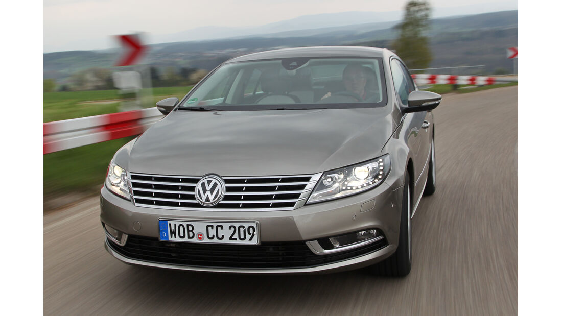 VW CC 1.4 TSI, Frontansicht