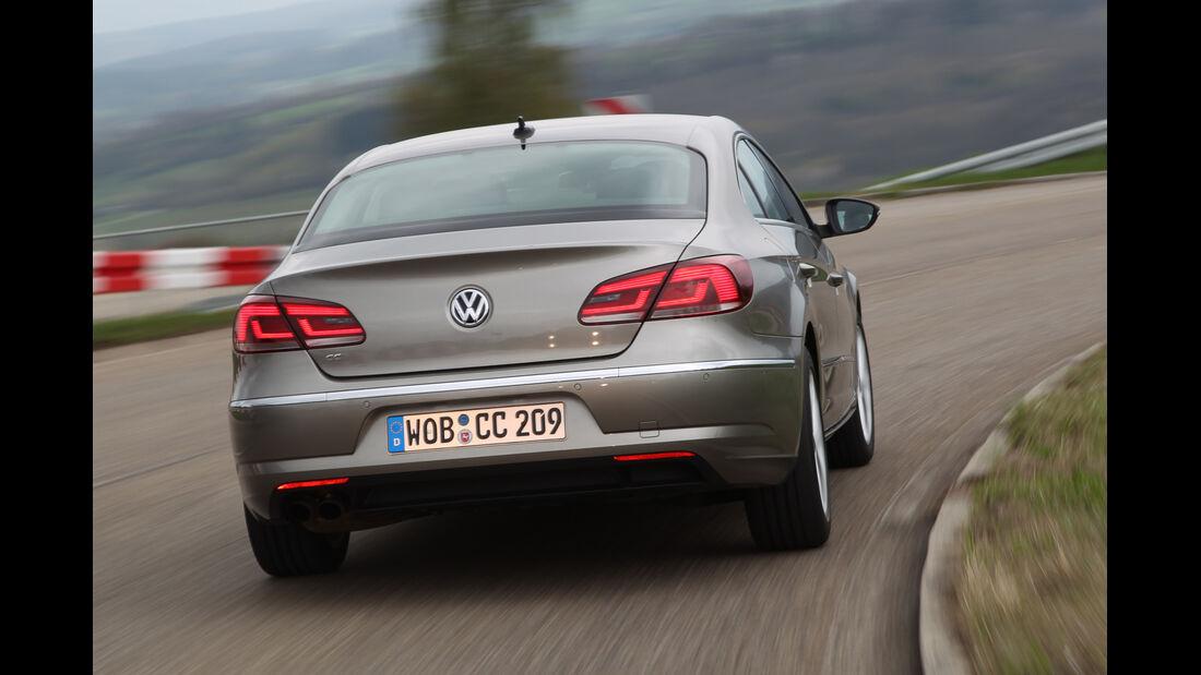 VW CC 1.4 TSI, Heckansicht