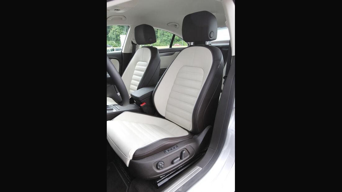 VW CC 1.8 TSI, Fahrersitz