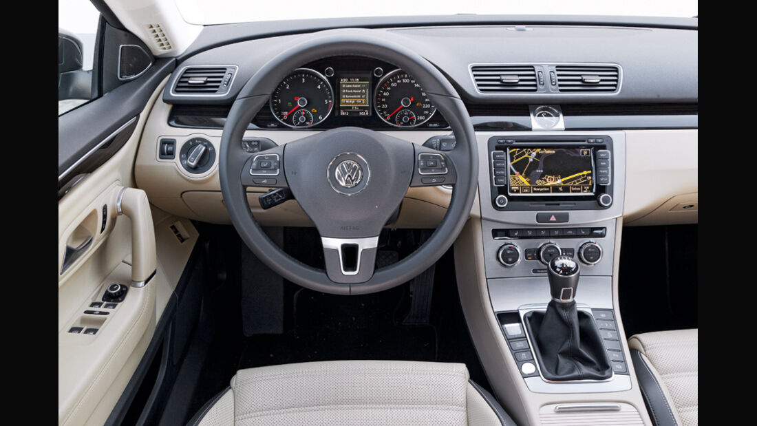 VW CC 2.0 TDI, Cockpit