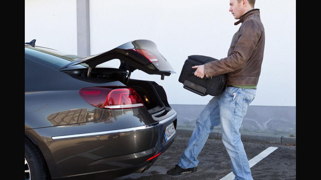 VW CC 2.0 TDI, Kofferraum, Heckklappe