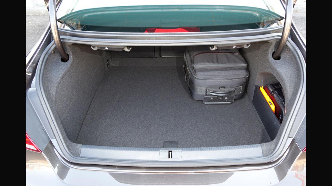 VW CC 2.0 TDI, Kofferraum