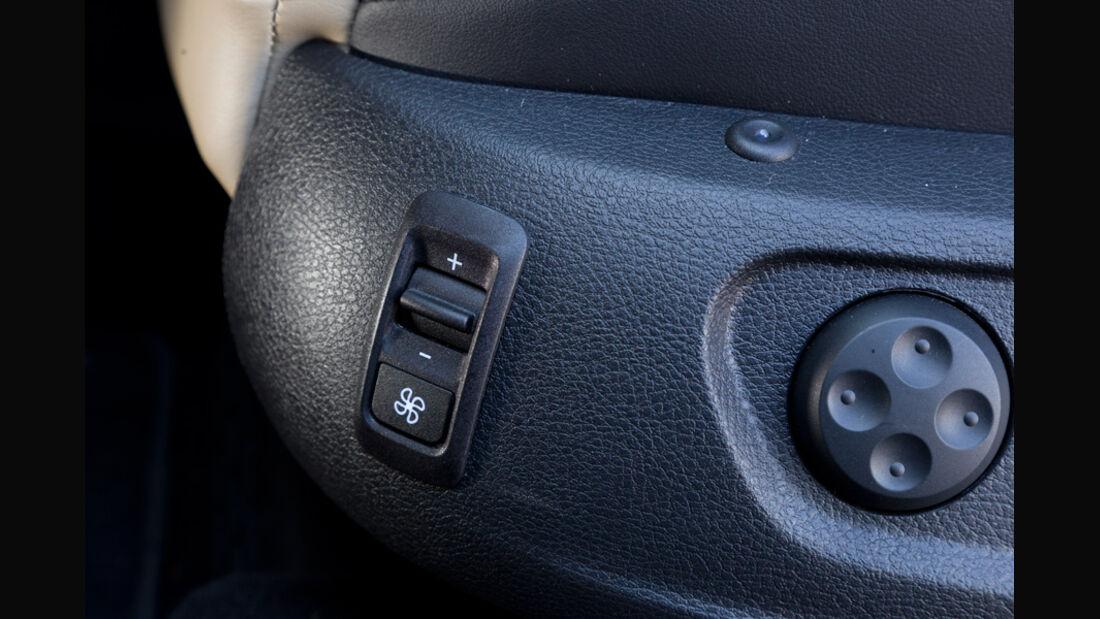 VW CC 2.0 TDI, Lenkradschalter