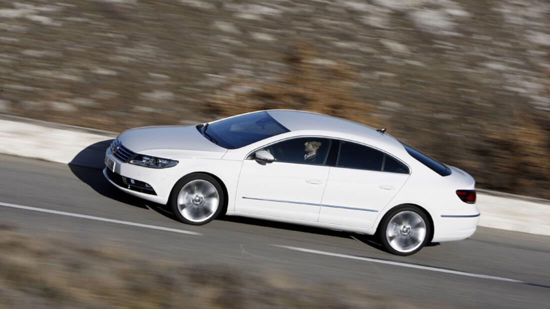 VW CC 2.0 TDI, Seitenansicht
