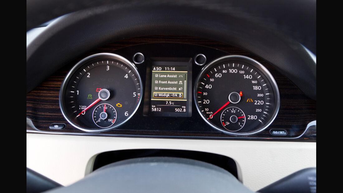 VW CC 2.0 TDI, Tacho, Rundinstrument