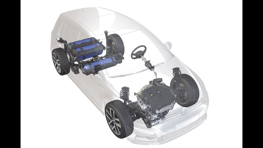 VW CNG-Motor 1,5l EA211 TGI evo 2018