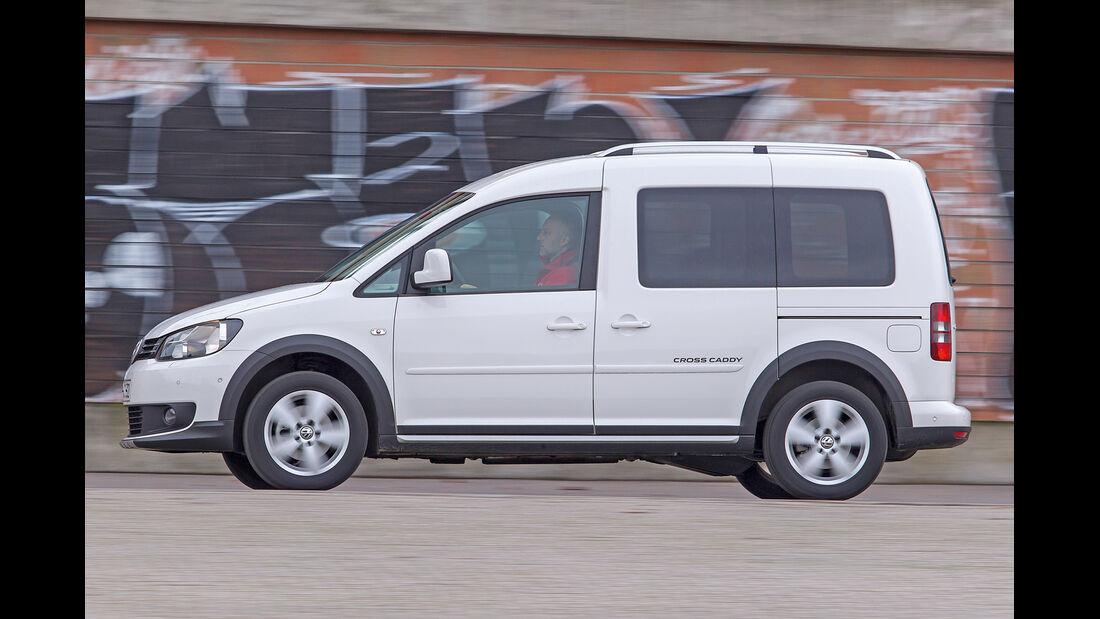 VW Caddy 2.0 Eco-Fuel, Seitenansicht