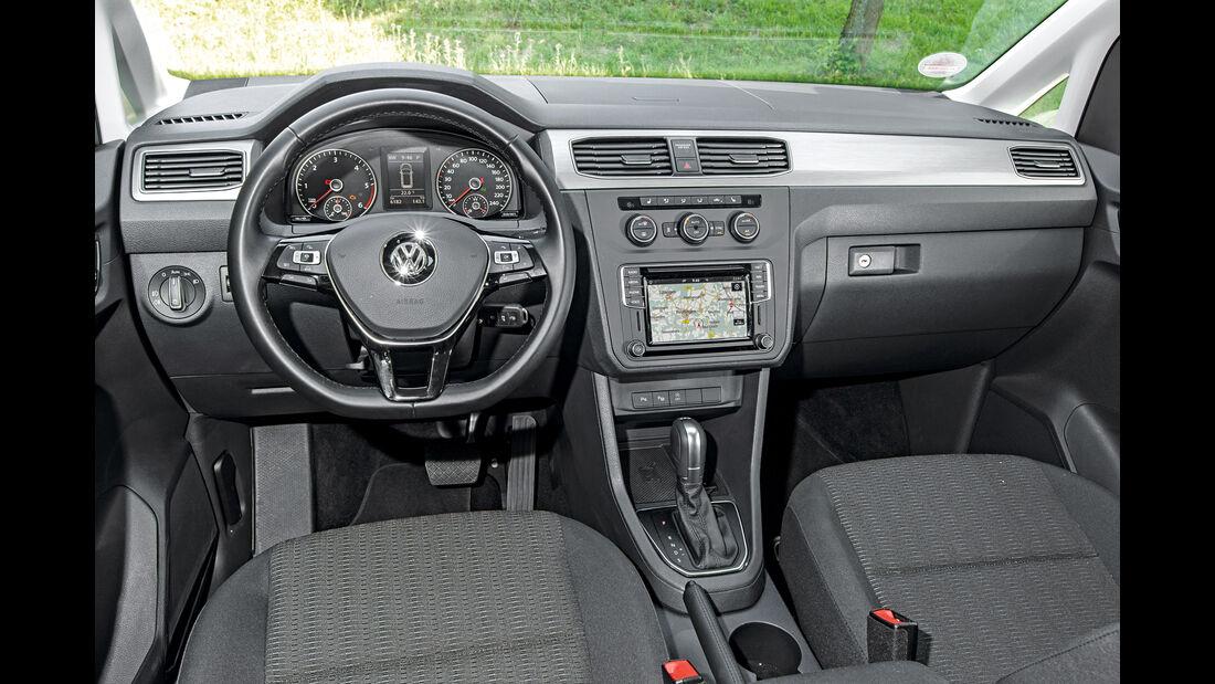 VW Caddy 2.0 TDI, Cockpit
