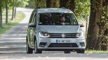 VW Caddy 2.0 TDI, Frontansicht