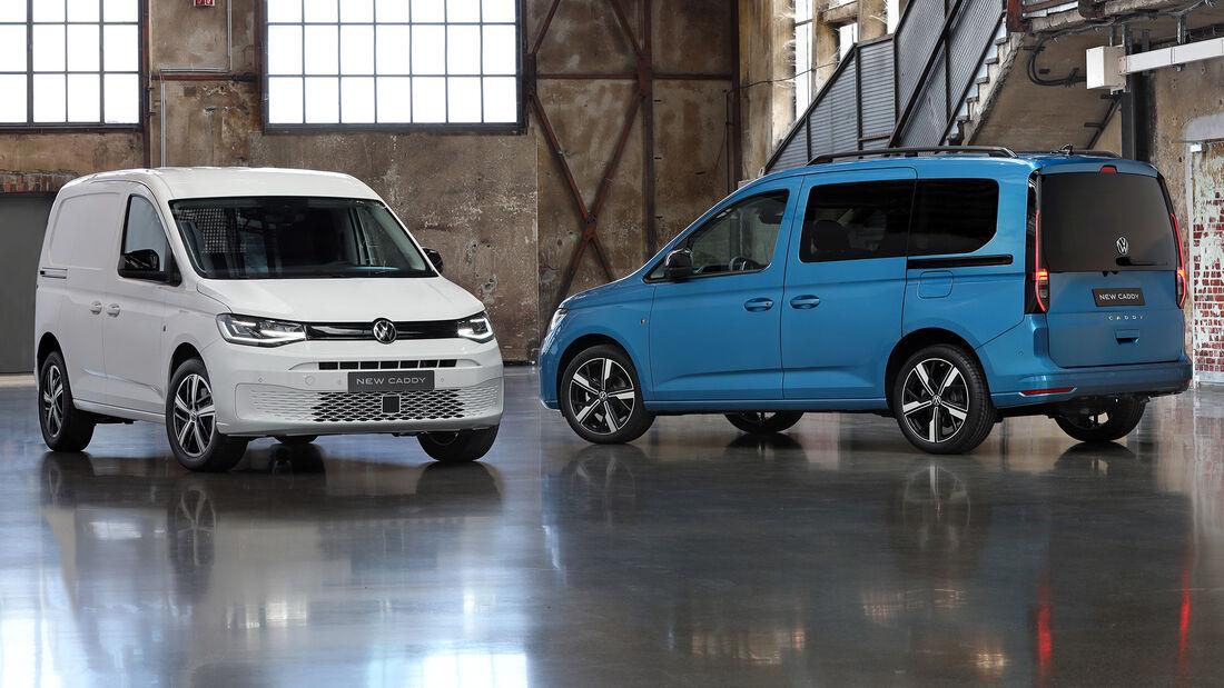 VW Caddy 4Motion 2021