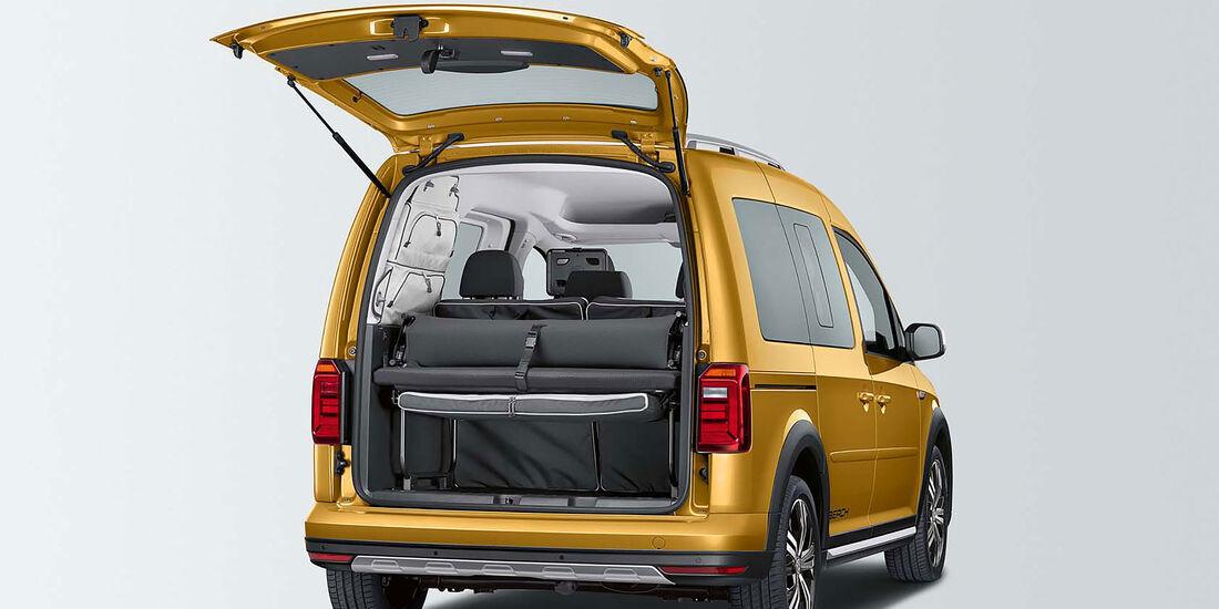 VW Caddy Beach Alltrack