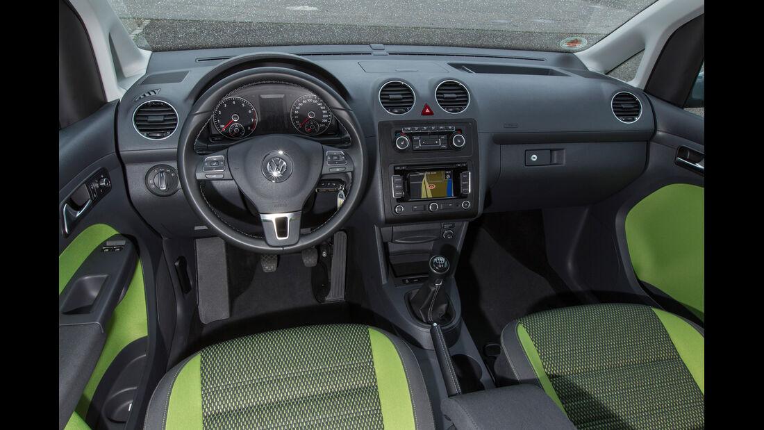 VW Caddy Bifuel, VW Caddy Ecofuel, Cockpit
