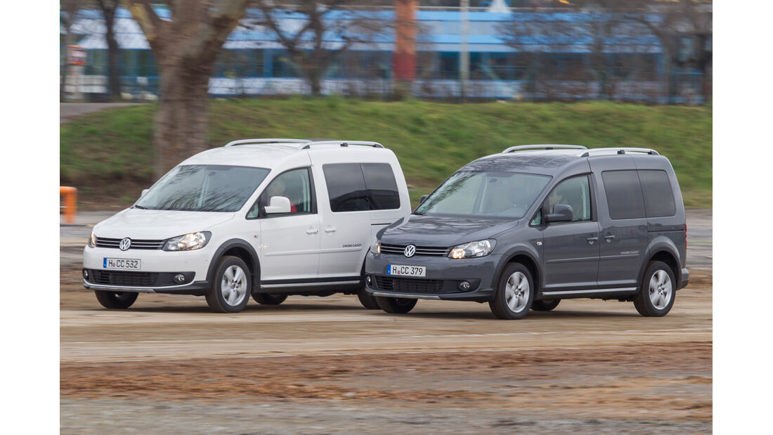 VW Caddy Bifuel, VW Caddy Ecofuel, Frontansicht