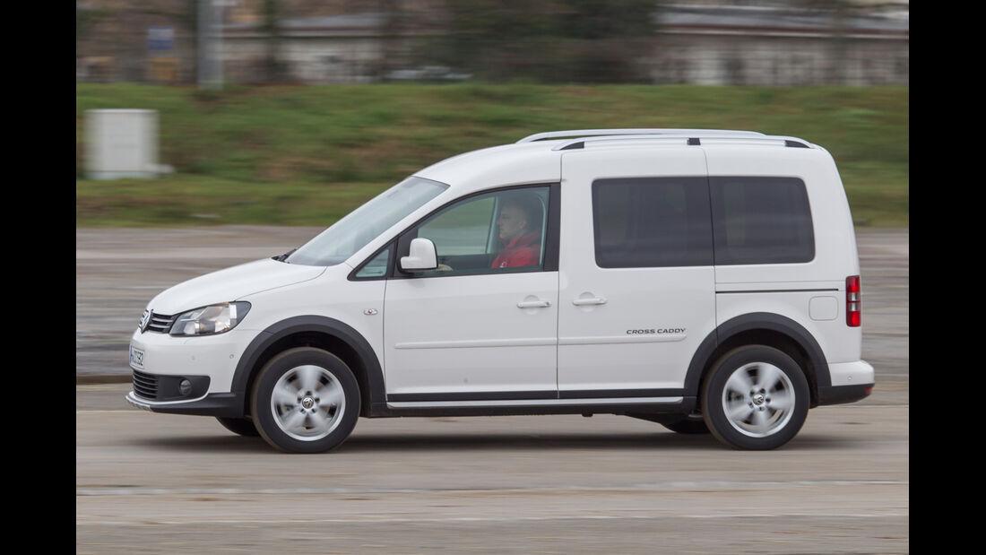 VW Caddy Bifuel, VW Caddy Ecofuel, Seitenansicht