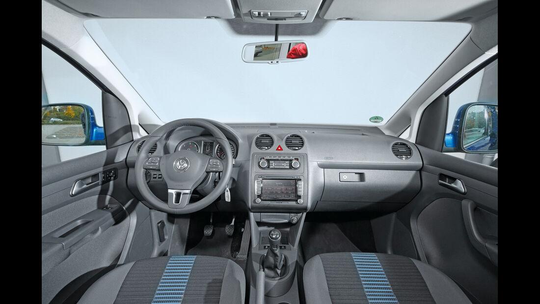 VW Caddy Blue Motion, Cockpit