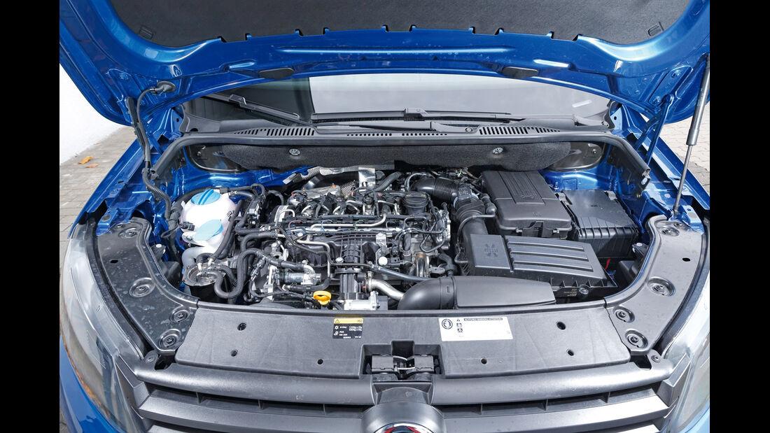 VW Caddy Blue Motion, Motor