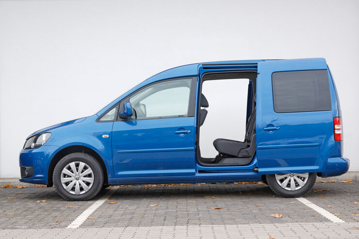 vw caddy blue motion im fahrbericht van mit spar programm auto motor und sport. Black Bedroom Furniture Sets. Home Design Ideas