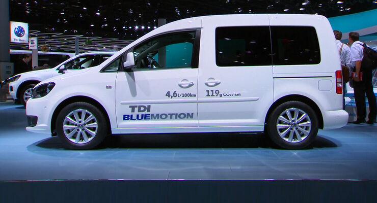 VW Caddy Bluemotion, IAA