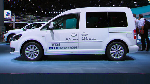 VW Caddy Bluemotion, IAA