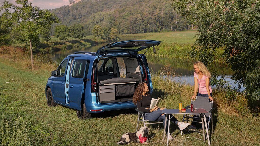 VW Caddy California Neuvorstellung 2020