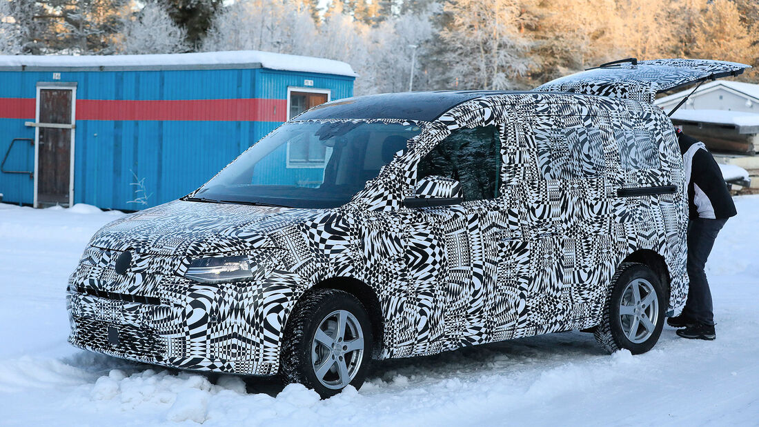 VW Caddy Erlkönig