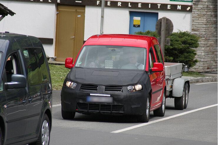 VW Caddy Facelift
