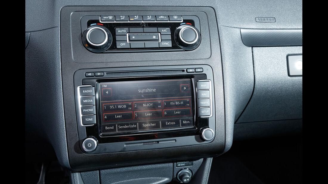 VW Caddy, Infotainment