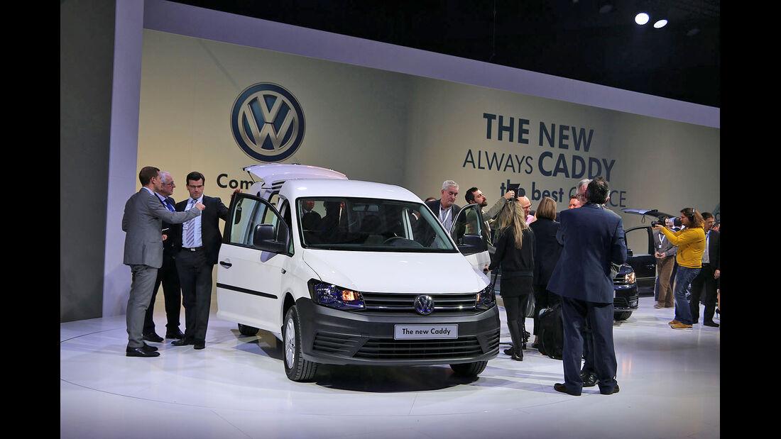VW Caddy Kastenwagen 2015 4. Generation
