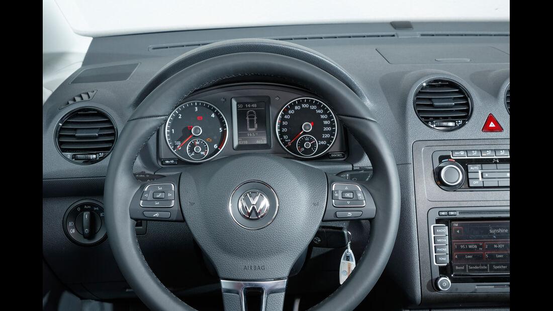 VW Caddy, Lenkrad