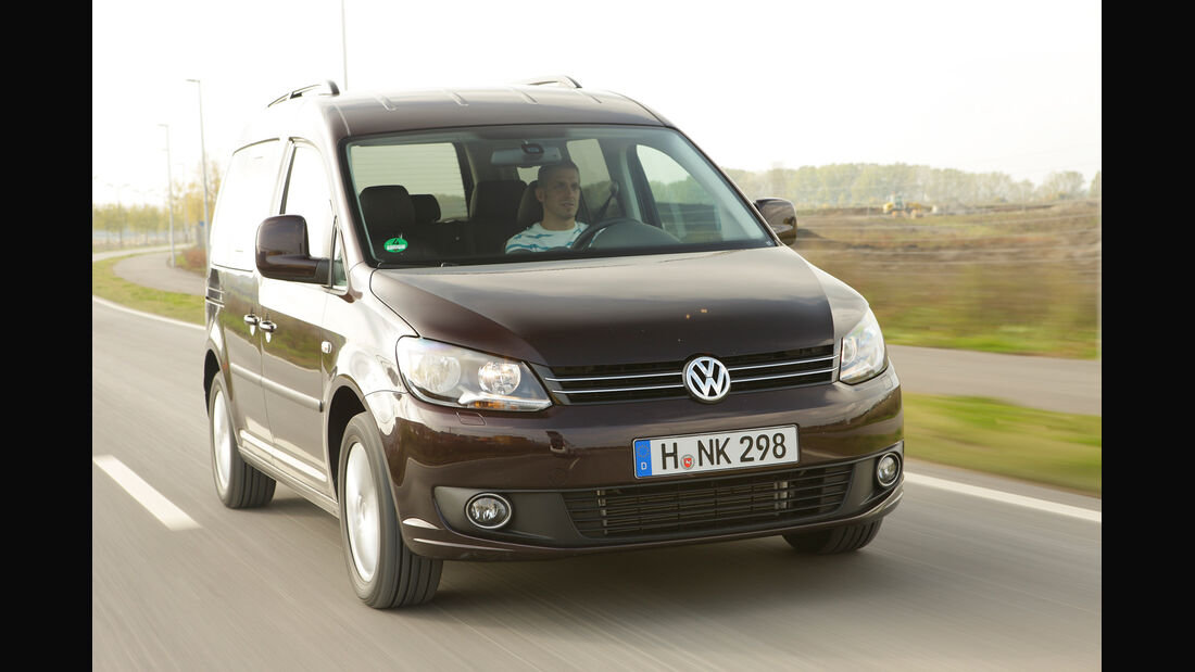 VW Caddy  Life 1.2 TSI, Frontansicht