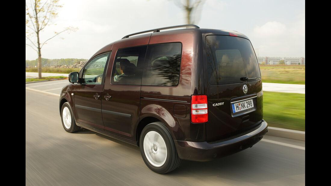 VW Caddy  Life 1.2 TSI, Heckansicht
