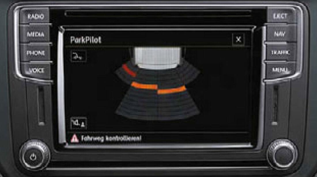 VW Caddy, Navi, Infotainment