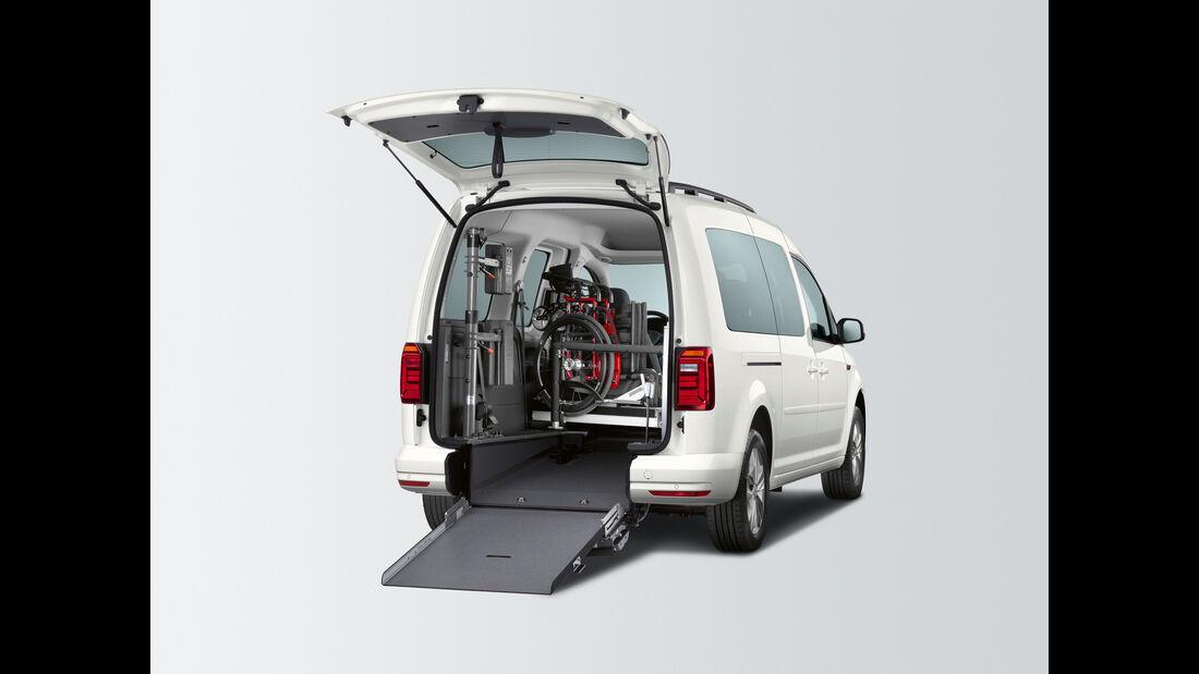 VW Caddy Personentransport