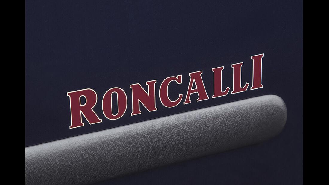 VW Caddy Roncalli Sondermodell, Schriftzug