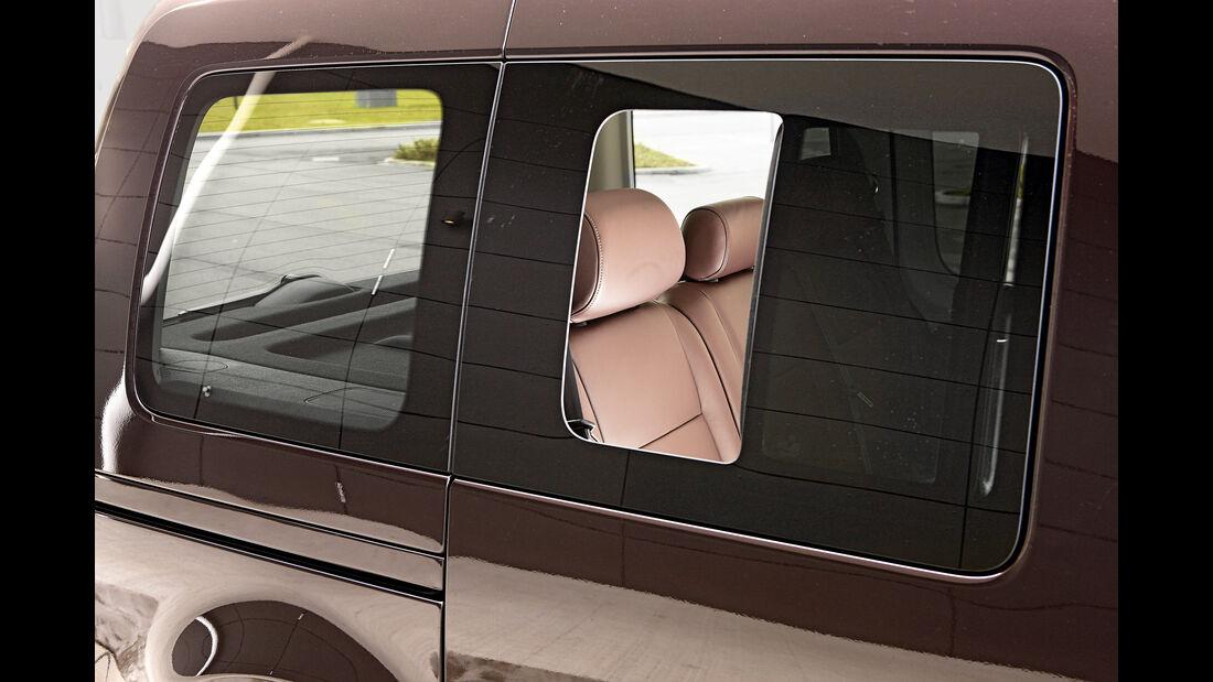 VW Caddy, Seitenfenster