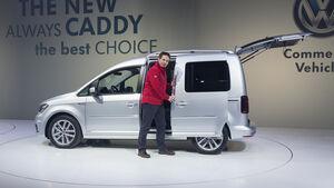 VW Caddy Sitzprobe