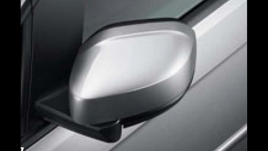 VW Caddy, Spiegel