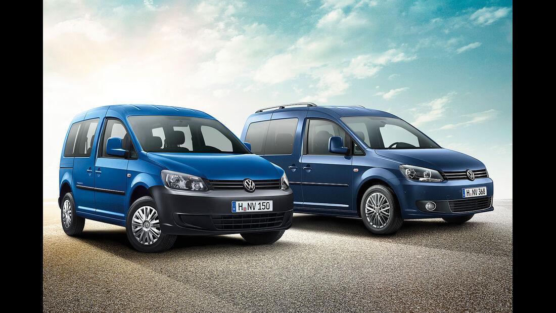 VW Caddy Team Edition Sondermodell