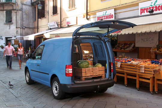VW Caddy Transporter, Laderaum 2013