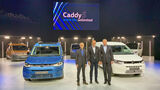 VW Caddy V Weltpremiere