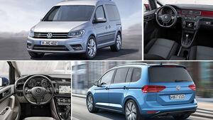VW Caddy vs VW Touran