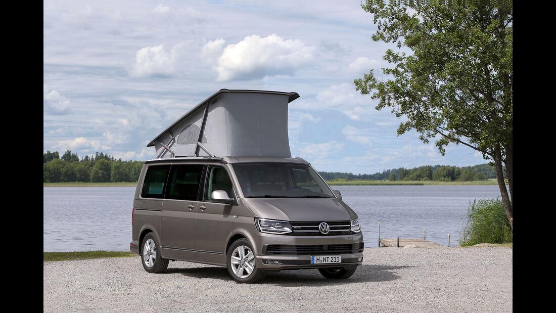 VW California Beach - Caravan Salon 2015