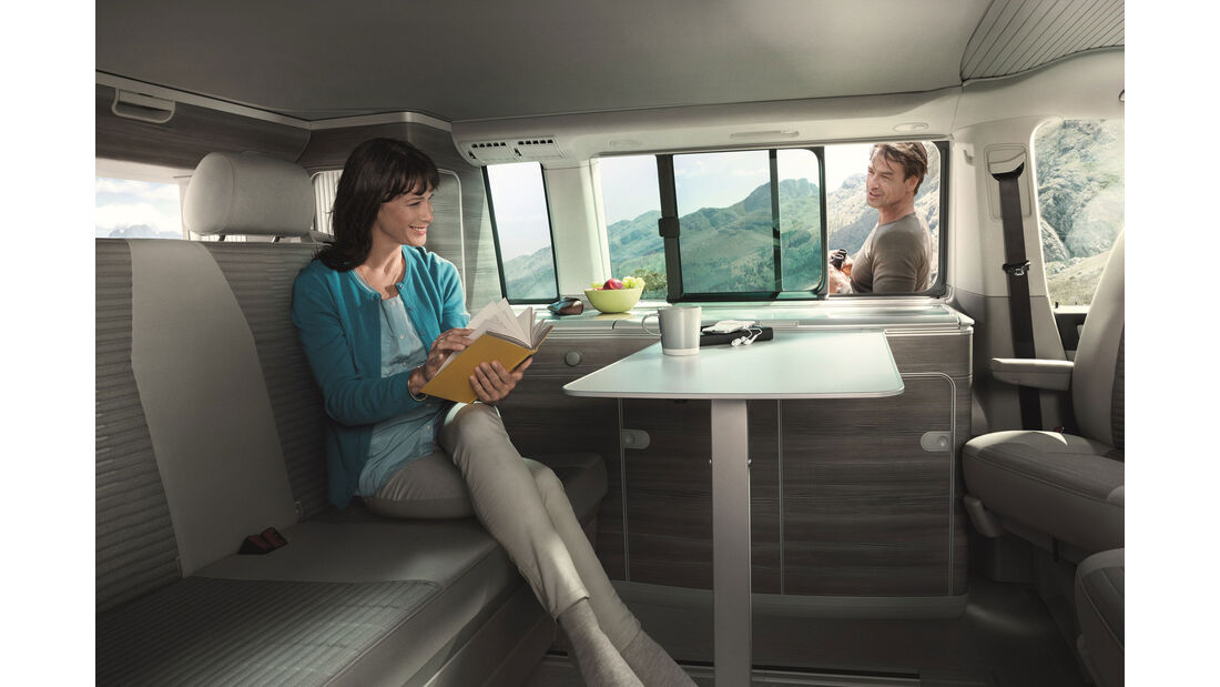 VW California - Innenraum - Caravan Salon 2015